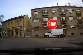 Új videóval jelentkeztek a civil kocsival büntető rendőrök
