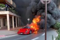 Feltámad a Monacoban porrá égett Ferrari F40-es? 1
