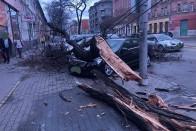 Budapesten dőlt meg az országos szélrekord 1
