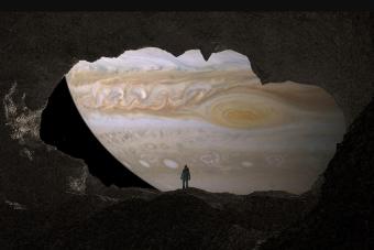 A Jupiter légkörének 0,25 százalékát víz alkotja