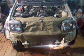 Így készül az orosz autós a -40 fokos télre
