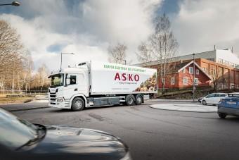 Elektromos teherautókat tesztel a Scania