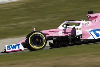 F1: A Racing Point is tesztelni fog