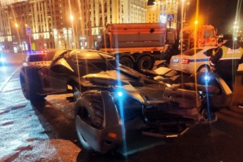 Batman sem menekülhet az orosz rendőrök elől