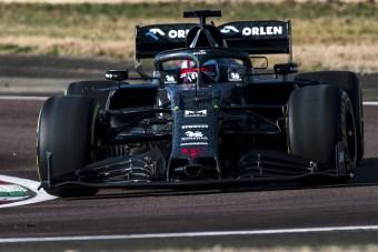 F1: Räikkönen pályán az új Alfával