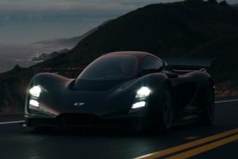 Hibrid hipersportkocsi születik Kaliforniában