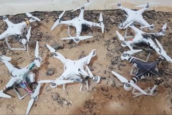 Nem kíméli a drónokat ez a fegyver - videó