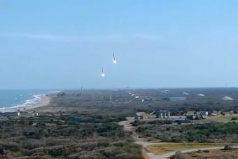 A Földre visszatérő Space X rakéták mindig bizonyítják, hogy a jövő itt van