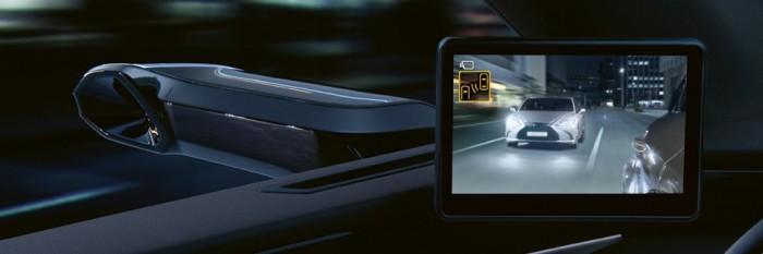 Jön Európába a tükör nélküli Lexus 2