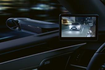 Jön Európába a tükör nélküli Lexus