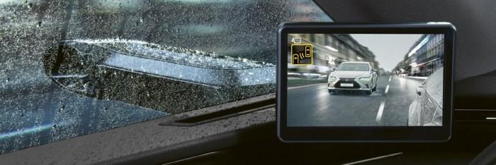 Jön Európába a tükör nélküli Lexus 3