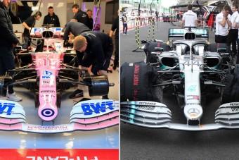 F1: A Racing Point lemásolta a tavalyi Mercedest?
