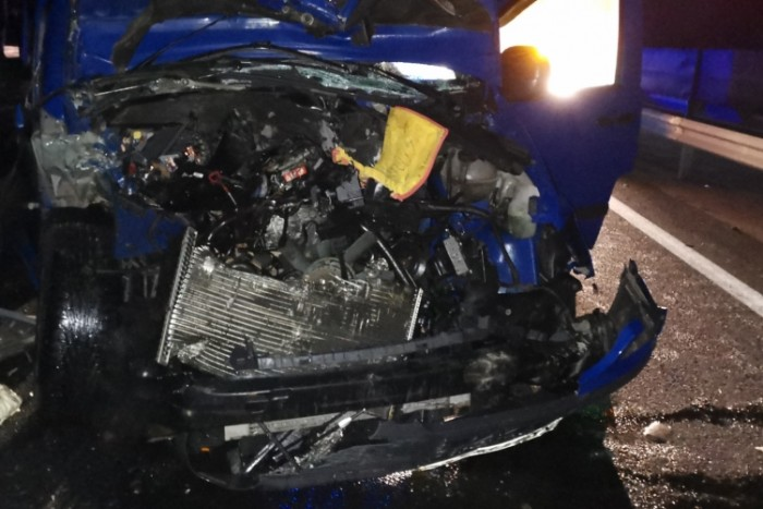 Ötös karambol, egy halott az M3-ason