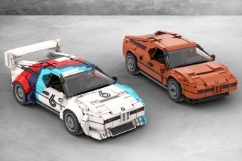 Ezt a Lego-BMW M1-est szívesen kiraknánk