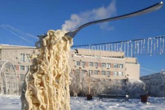 Ilyen az élet a -50 fokos télben az oroszoknál
