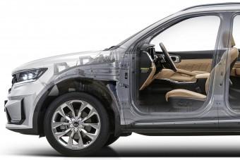 Hibrid hajtáslánc és nyolcfokozatú váltó a Kia csúcsmodelljében