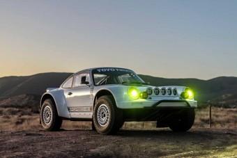 Igazi offroad élményt kínál az átalakított Porsche