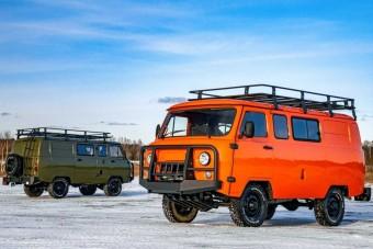 Mindenhová elvisz ez a Szibériára felkészített UAZ