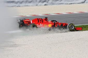 F1: Röpködtek az autók a teszten