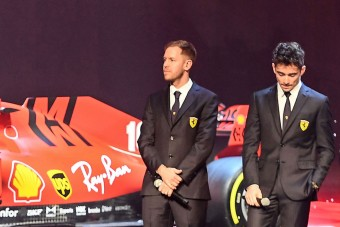 F1: Leclerc-nek megfelel, ha marad Vettel
