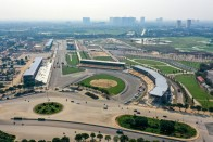 F1: Bajban a Vietnámi Nagydíj, már bontják a pályát 1