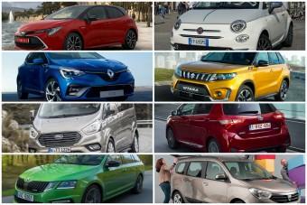 Ezek a magyarok kedvenc autói 2020-ban