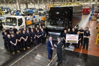 Mérföldkőhöz érkezett a Leyland Trucks