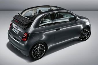 Csak villanymotorral kapható az új Fiat 500