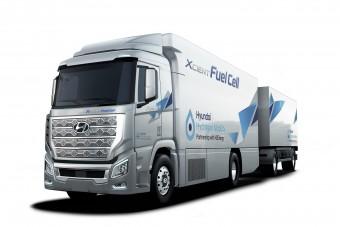 Hidrogéncellás teherautókkal jön Európába a Hyundai