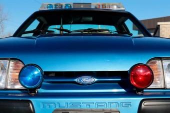 Ezzel a Mustanggal a gyorshajtókra vadásztak