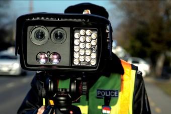 Rekordszámú gyorshajtót fogtak a rendőrök
