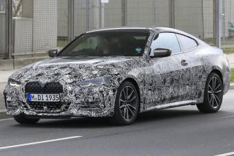 Szögletes, izmos és nagyorrú lesz a BMW 4