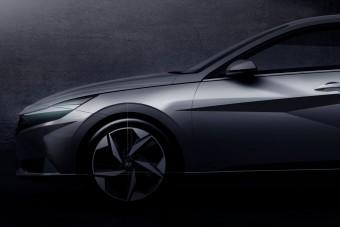 Geometrikus szedánkupé a legújabb Hyundai