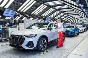 Kedden újraindul a győri Audi