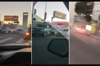 Pokoli bosszút állt az ámokfutó autós amiért nekiütköztek