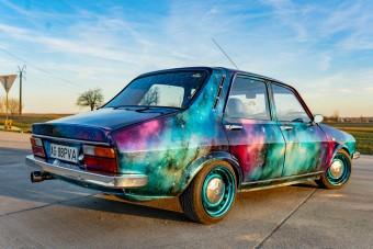 Őrület, mennyire menő lett ez az öreg Dacia
