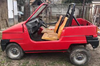 1,1 millió forintért eladó a magyar autókészítés ritka egyedi példánya