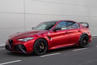 Megérkezett a legdurvább Alfa Romeo