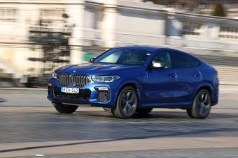 Teszten a BMW X6, 530 lóerővel - Tesztoszteron, szívlapáttal