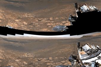 Az eddigi legnagyobb felbontású panorámafelvételét készítette a Marsról a Curiosity