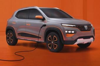 Villanymotorral jön Európába a törpe Dacia