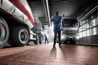 A Daimler szervizek továbbra is nyitva maradnak