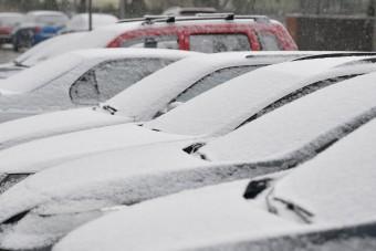 Szibériai hideg jön, ne váltsunk még nyári gumira