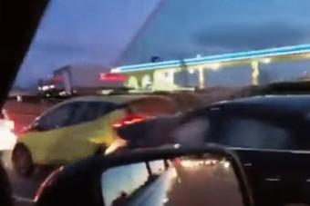 Hamar utolérte a karma az agresszív autóst