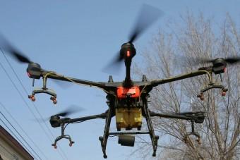 A drónokat nem győzi le a koronavírus - videó