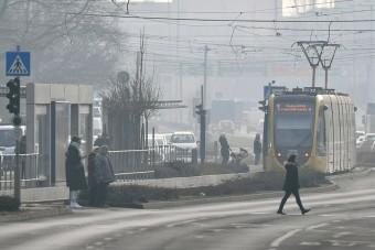 Beszakadni látszik a közlekedés Budapesten
