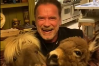 Schwarzenegger maszkját lehetetlen überelni 1