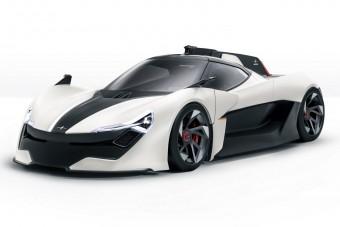 Új elektromos hipersportkocsi születik Angliában