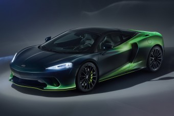 Háromszor is zöld ez a McLaren