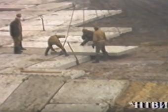 Az atombaleset után készített, ritkán látott videó került elő Csernobilból